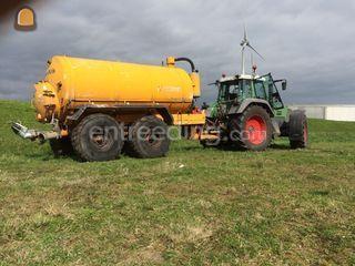 Tractor + waterwagen Omgeving Zwolle