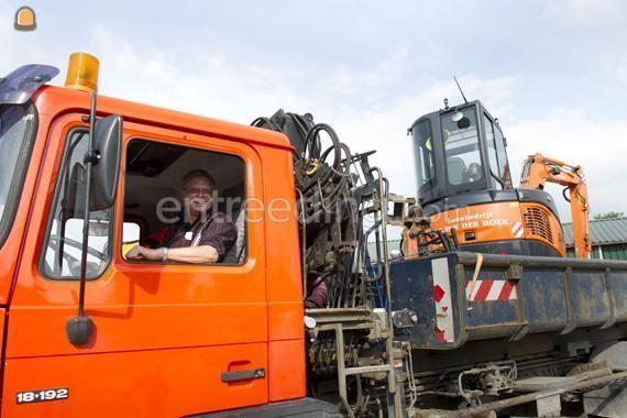 Chauffeur Vrachtwagenchauffeur