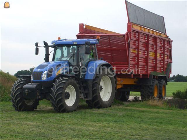 Tractor + silagewagen Silagewagen Vaia 18 tonner