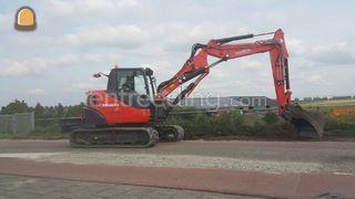 KX 080-4 midikraan (8 ton... Omgeving Alphen a/d Rijn