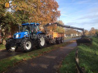 Tractor met kraan/kipper Omgeving Alphen a/d Rijn