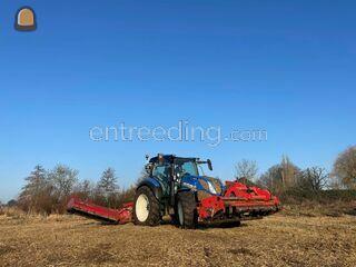 Dubbele klepelmaaier Omgeving Alphen a/d Rijn