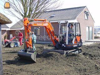 Kubota KX 121-3 (4 ton) Omgeving Alphen a/d Rijn