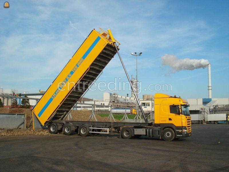 Kippervrachtauto Volumekiptrailer 40 m3