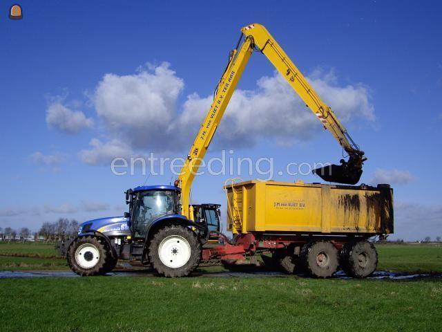 Tractor + kipper Baggerkipper 19 m3