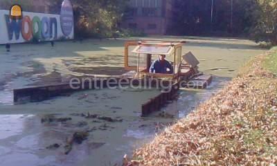 Baggerduwboot Baggerschuifboot