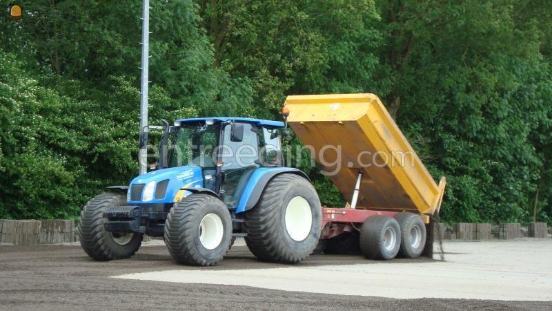 Tractor + kipper Kleine kipper 5 m3