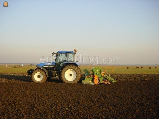 Tractor + rotorkopeg + zaaimachine Zaaicombinatie 3 mtr.