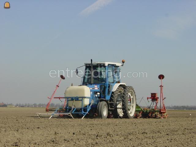 Tractor + zaaimachines Bietenzaaier 12 rijig