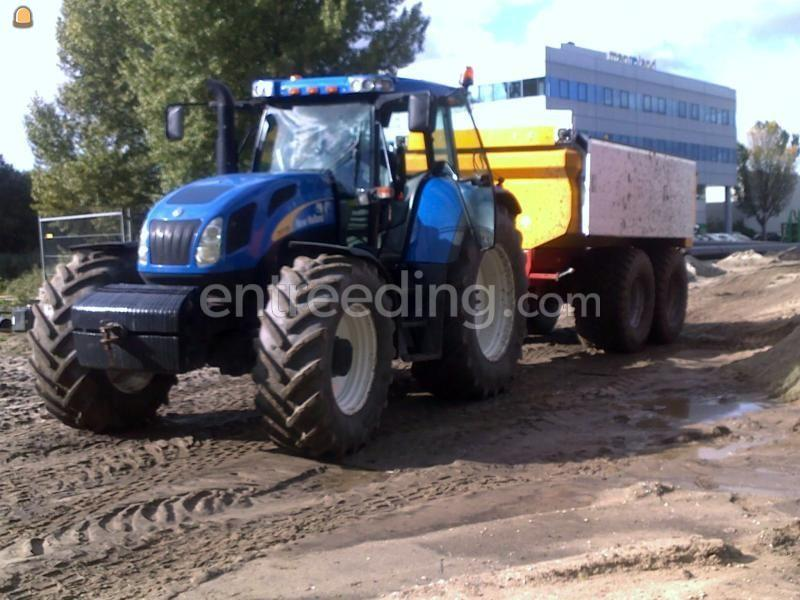 Tractor + kipper New Holland TVT 170