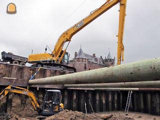 Kobelco sk 300-10 long re... Omgeving De Ronde Venen