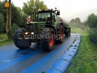Fendt met 12 m3 watertank Omgeving Amersfoort