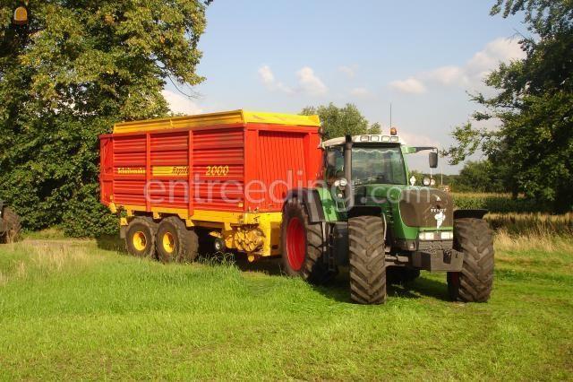 Tractor + opraapwagen 40 m3 Schuitemaker Rapide 2000