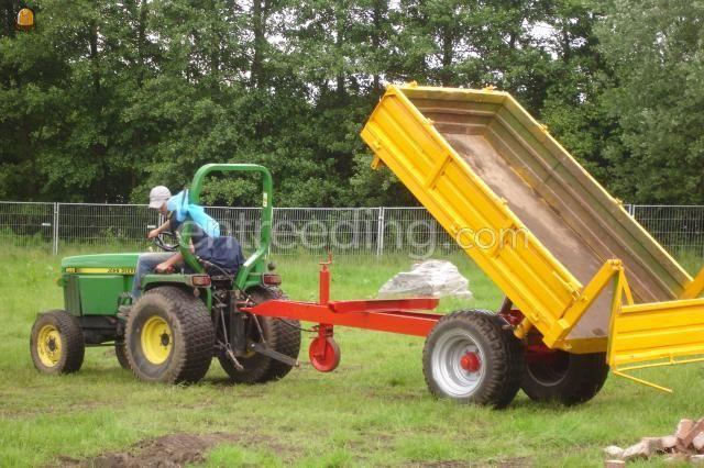 Tractor + kipper kipper
