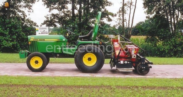 Tractor + rotorkopeg + zaaimachine Mini zaaimachine R2