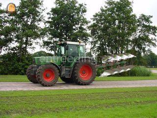 Fendt 920 + 5-schaar went... Omgeving Amersfoort