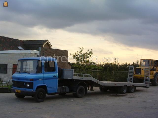 Dieplader / oprijwagen mercedes type 508