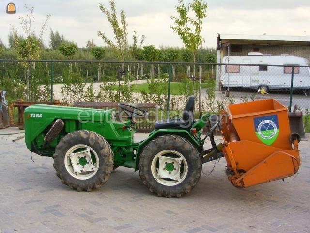 Tractor + grondfrees ferrari 75RS