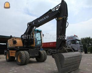 Volvo 16 ton bandenkraan Omgeving Hasselt