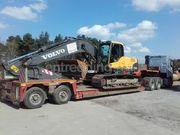 kippertransport, containers, materieel, betonmixers
