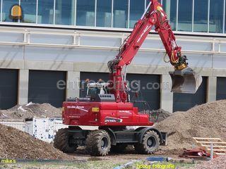 Doosan DX140W Omgeving Rotterdam