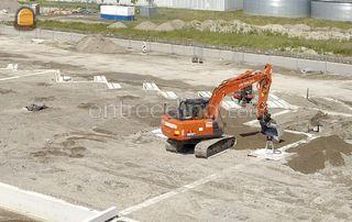 Hitachi ZX 160 LC-6 Omgeving Westland