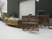 Zuig- en schuifboot Baggerboot groot