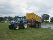 Tractor + baggerkipper