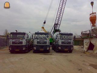 MAN + betonmixer 10m3 Omgeving Amsterdam
