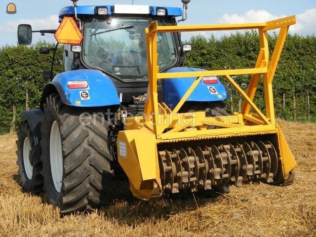 Tractor + stobbenfrees