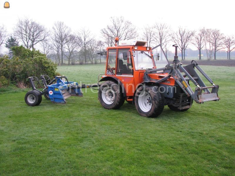 Tractor + kilver Holder met kilverbord
