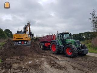 Tractor + carrier Omgeving Harderwijk