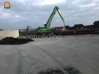 Sennebogen 835 loskraan Omgeving Roosendaal