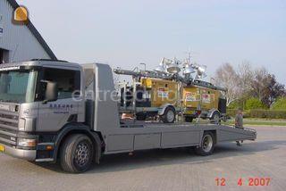 Scania bakwagen Omgeving Roosendaal