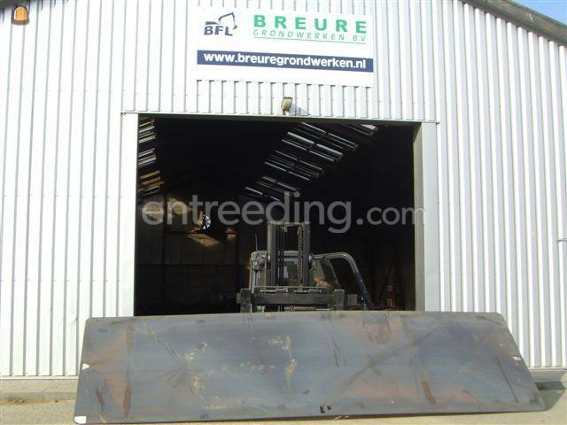 Rijplaten staal ijzeren rijplaten