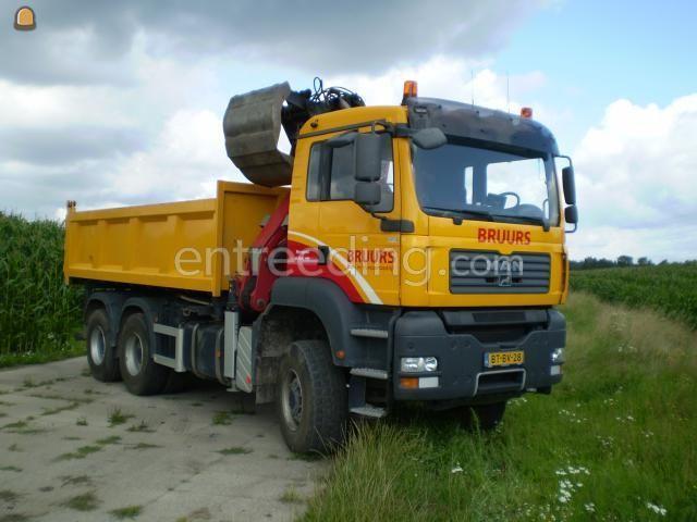 Kippervrachtauto MAN TGX 28.440 BB 6x6