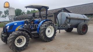 Tractor + waterwagen Omgeving Purmerend