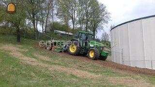Tractor + rotorkopeg + za... Omgeving Oostelijke Mijnstreek