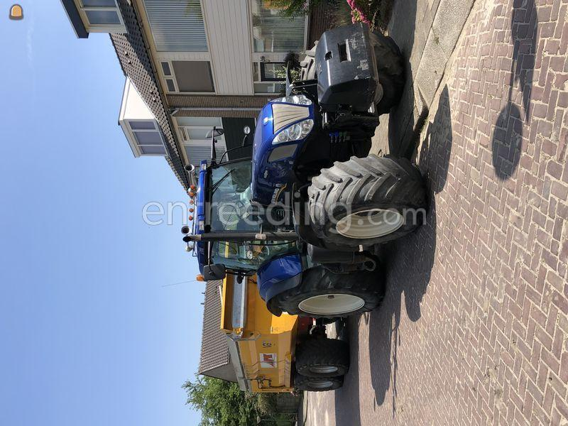 New holland t7 250 vgm 22tons met kleppen