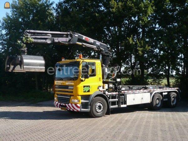 Ginaf 6x4 knijperwagen