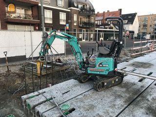 Minigraver 1T (Kobelco SK... Omgeving Maarssen