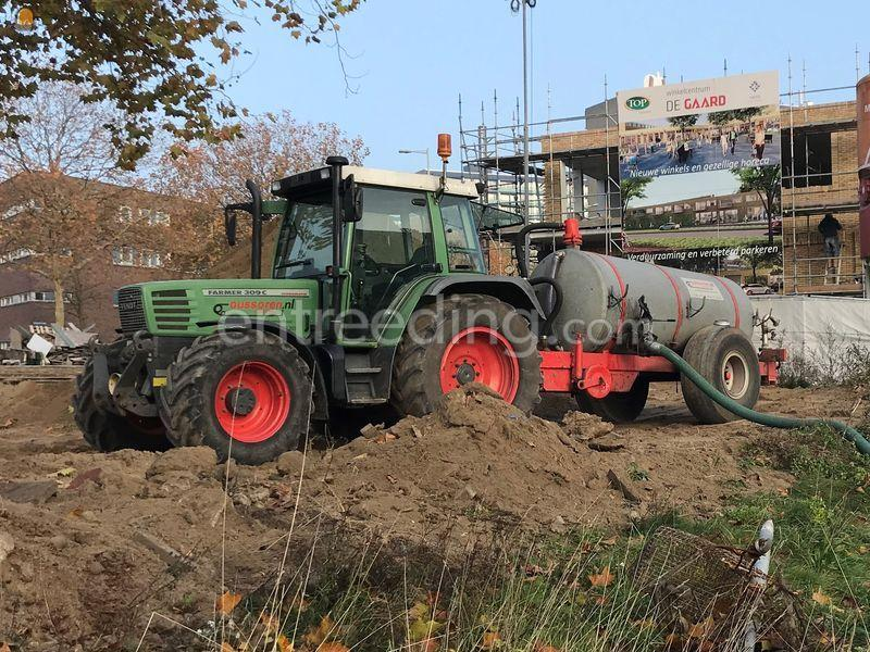 Fendt 309C + 4m3 tank