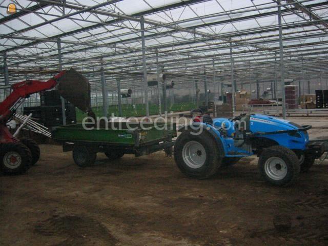 Tractor + kipper LANDINI MISTRAL 50