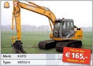 Kato HD512 Omgeving Hilversum
