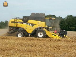 New Holland CX820 Omgeving Maasdriel