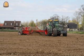 Tractor + kilver bord Omgeving Tiel