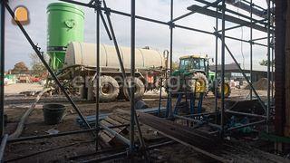 Tractor + waterwagen Omgeving Tiel