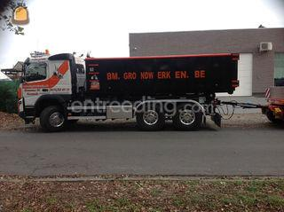 kippertransport, containe... Omgeving Gent