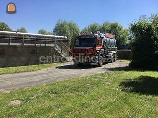 Tractor + waterwagen Omgeving Gent