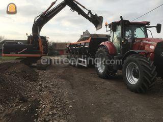 Tractor + kipper Omgeving Gent